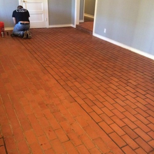 Grout Staining